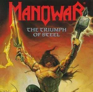 MANOWAR - Triumph Of Steel