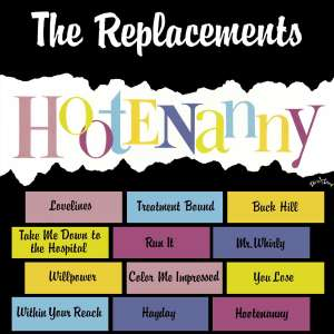 REPLACEMENTS - Hootenanny Record