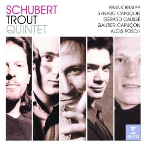 SCHUBERT, F. - Trout Quintet CD