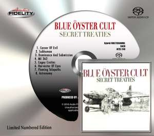 BLUE OYSTER CULT - Secret Treaties-sacd/ltd-