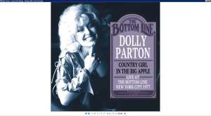 PARTON, DOLLY - Country Girl In The Big A