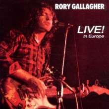 GALLAGHER, RORY - Live In Europe -remast-