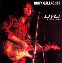 GALLAGHER, RORY - Live In Europe -hq-