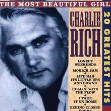 RICH, CHARLIE - 20 GREATEST HITS - CD