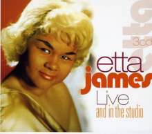 JAMES, ETTA - Live And In The Studio