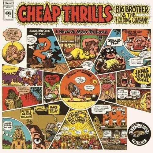 JOPLIN, JANIS - Cheap Thrills Album