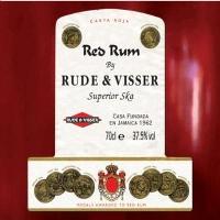 RUDE & VISSER - RED RUM - CD single