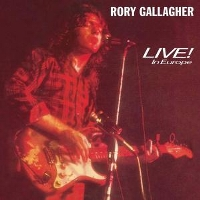Live In Europe - GALLAGHER, RORY
