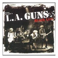 PAUL BLACK'S L.A. GUNS - Black List