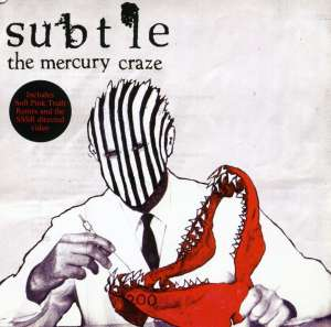 SUBTLE - MERCURY CRAZE -4TR- - CD single