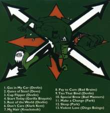SKANKIN' PICKLE - THE GREEN ALBUM - CD