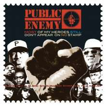 PUBLIC ENEMY - MOST OF MY HEROES STILL DON'T APPEAR ON NO STAMP - 33T