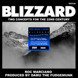 ROC MARCIANO & DAMU THE FUDGEMUNK - Blizzard - 7inch (SP)