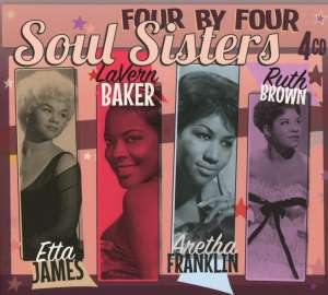 VARIOUS (FOUR BY FOUR) - SOUL SISTERS - CD