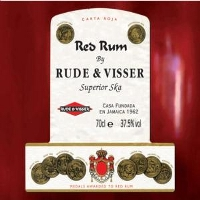 RUDE & VISSER - RED RUM - CD single